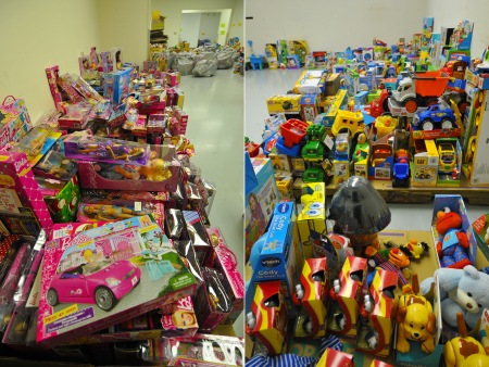 Distribution Center - Toys for Tots