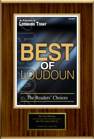 Best of Loudoun - My Guys Movers
