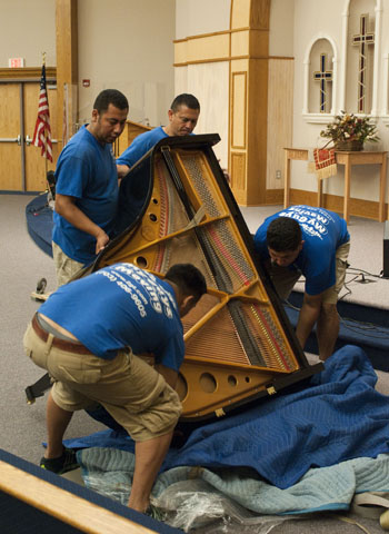 moving a piano - My Guys